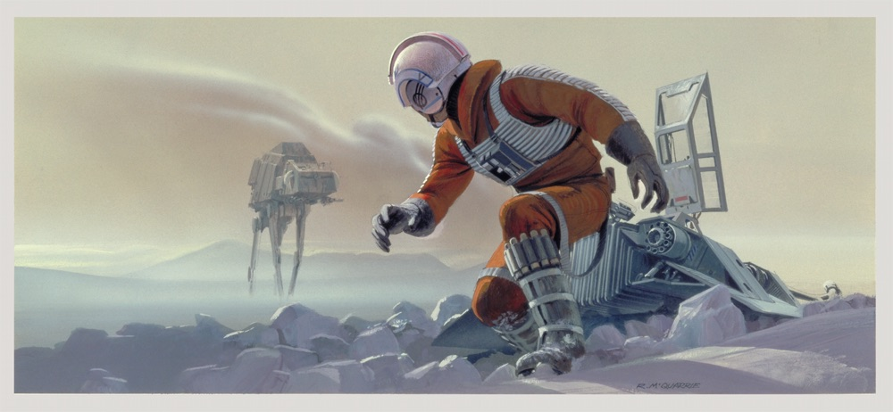 McQuarrie - Luke on Hoth