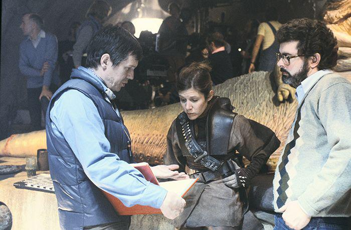 Episode VI - Marquand, Carrie Fisher, George Lucas Behind the Scenes