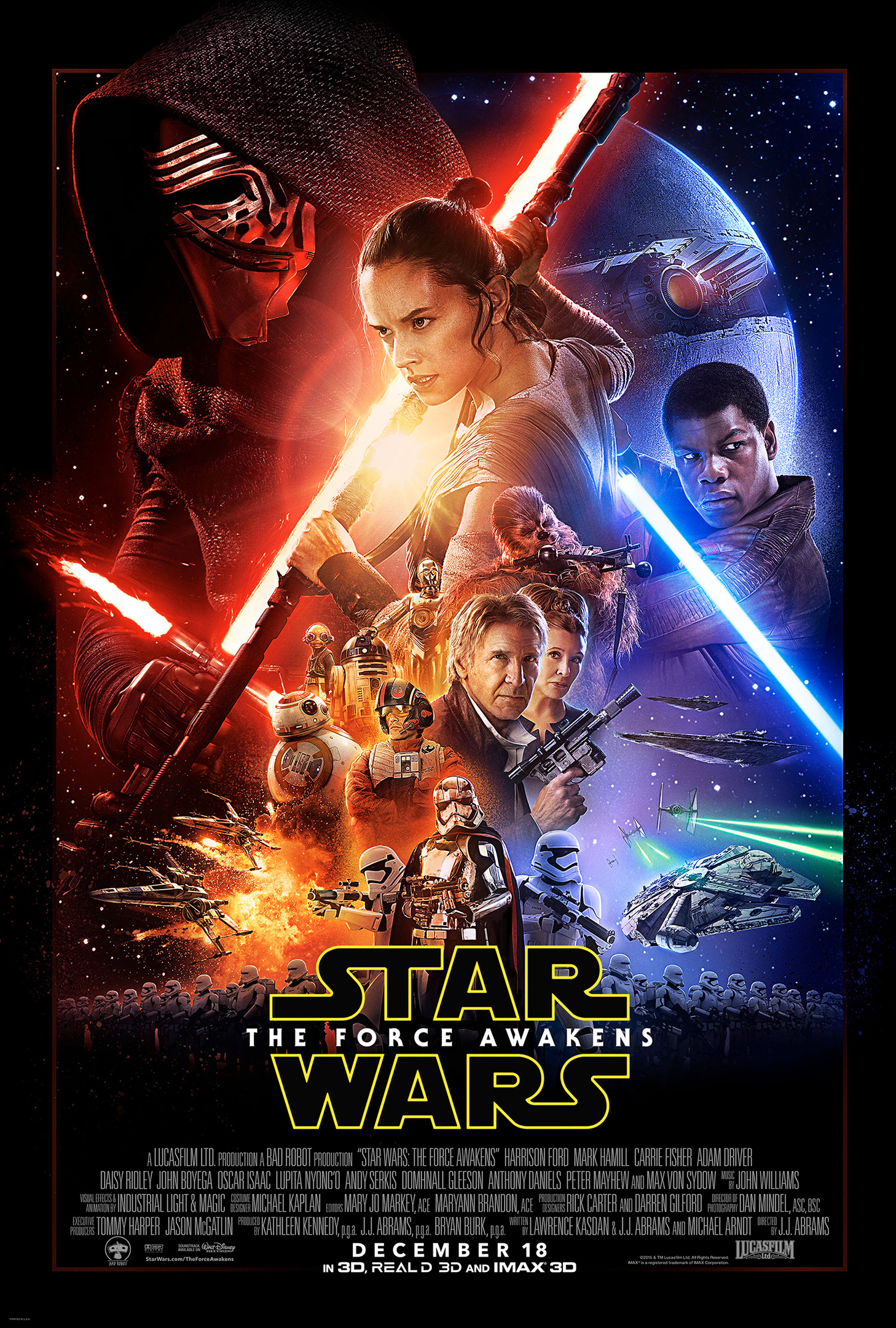 Thank You Star Wars The Force Awakens Be es the 1 of All