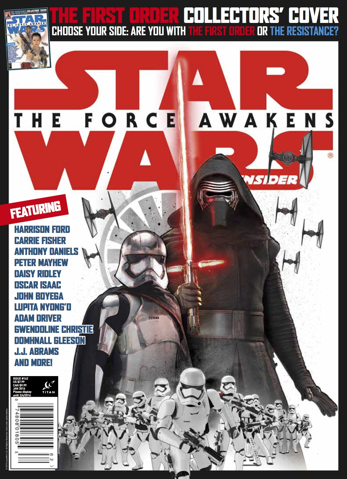 Star Wars Insider Kylo Ren Cover