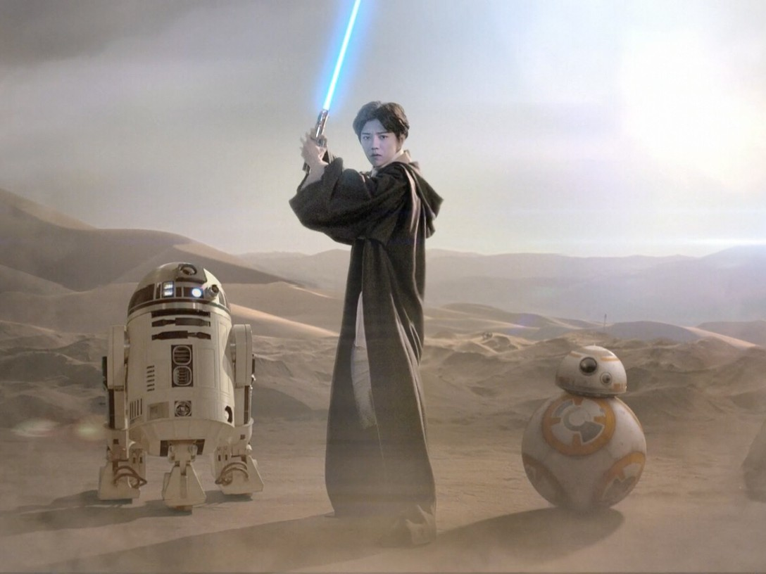 LuHan - Star Wars: The Force Awakens China promo