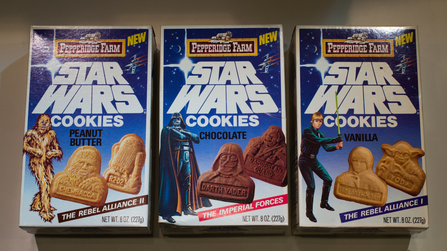 Pepperidge Farm Cookie Boxes
