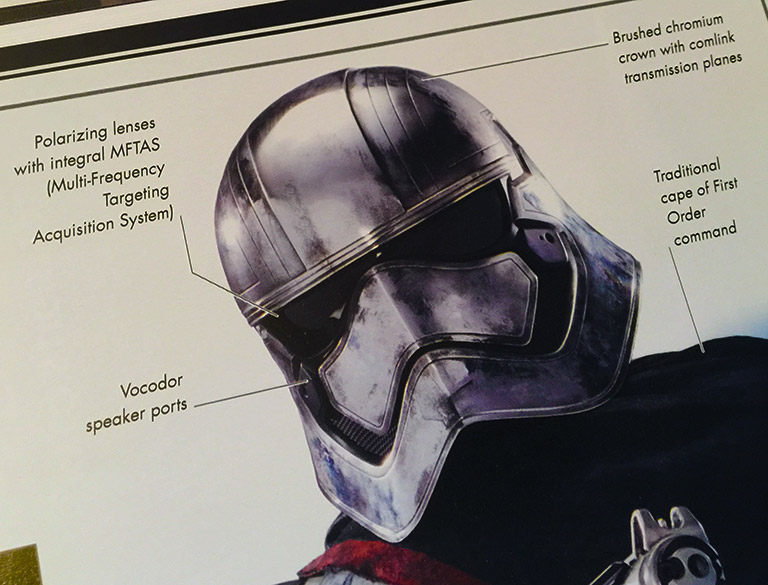 The Force Awakens Dictionary - Captain Phasma
