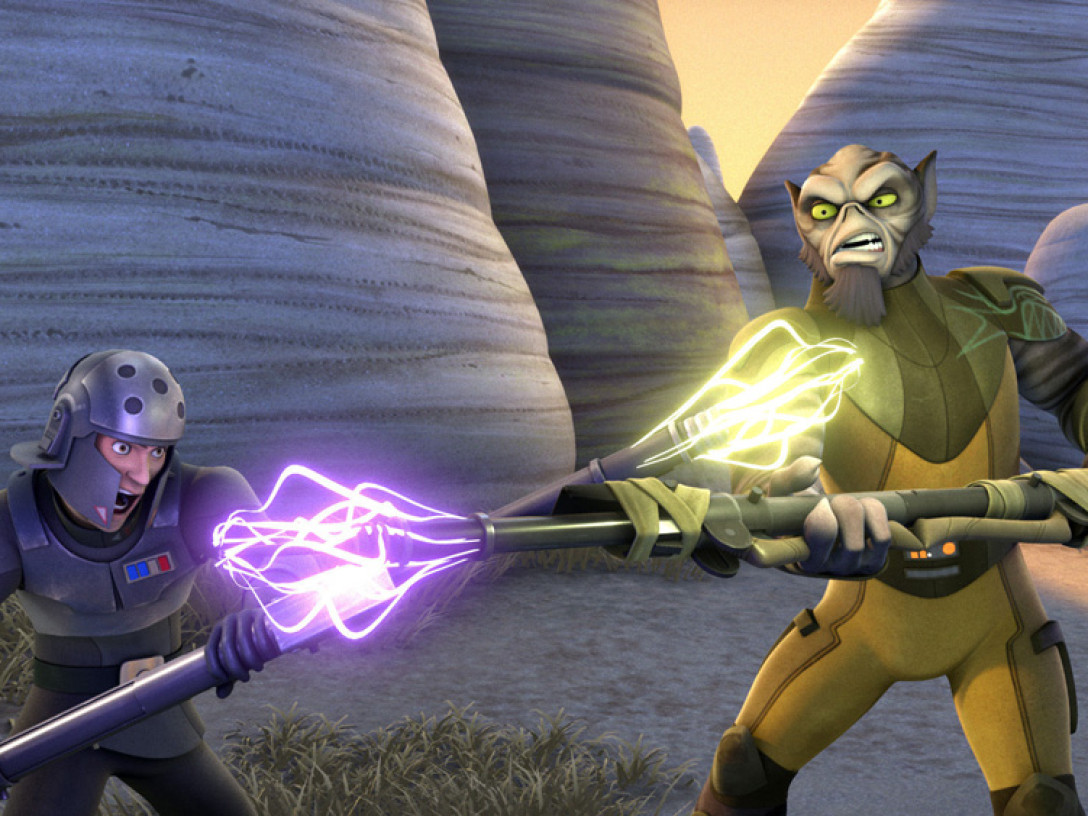 Star Wars Rebels - Zeb vs. Agent Kallus