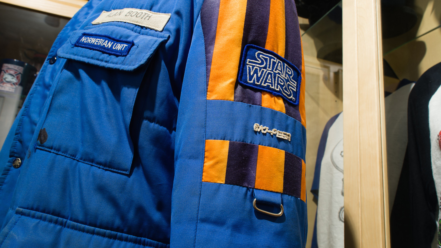 The Empire Strikes Back Norwegian Crew Jacket- Side View