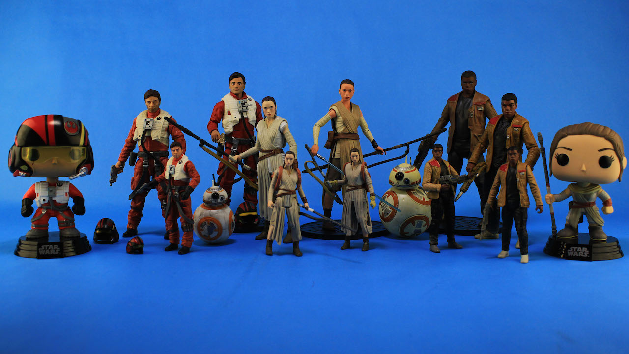 Toy Heroes of The Force Awakens