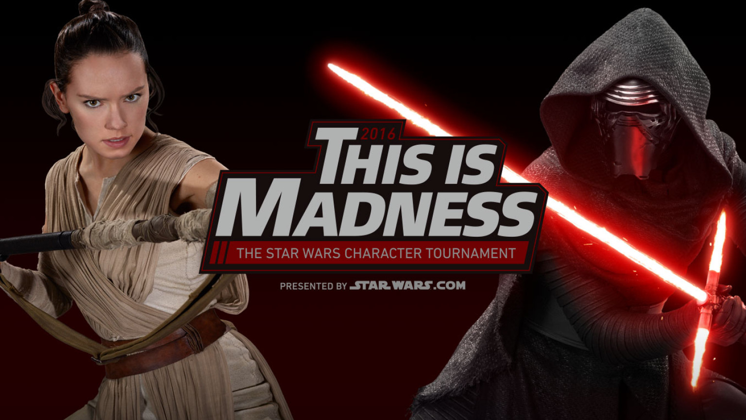 This Is Madness: The Star Wars Character Tournament 2016