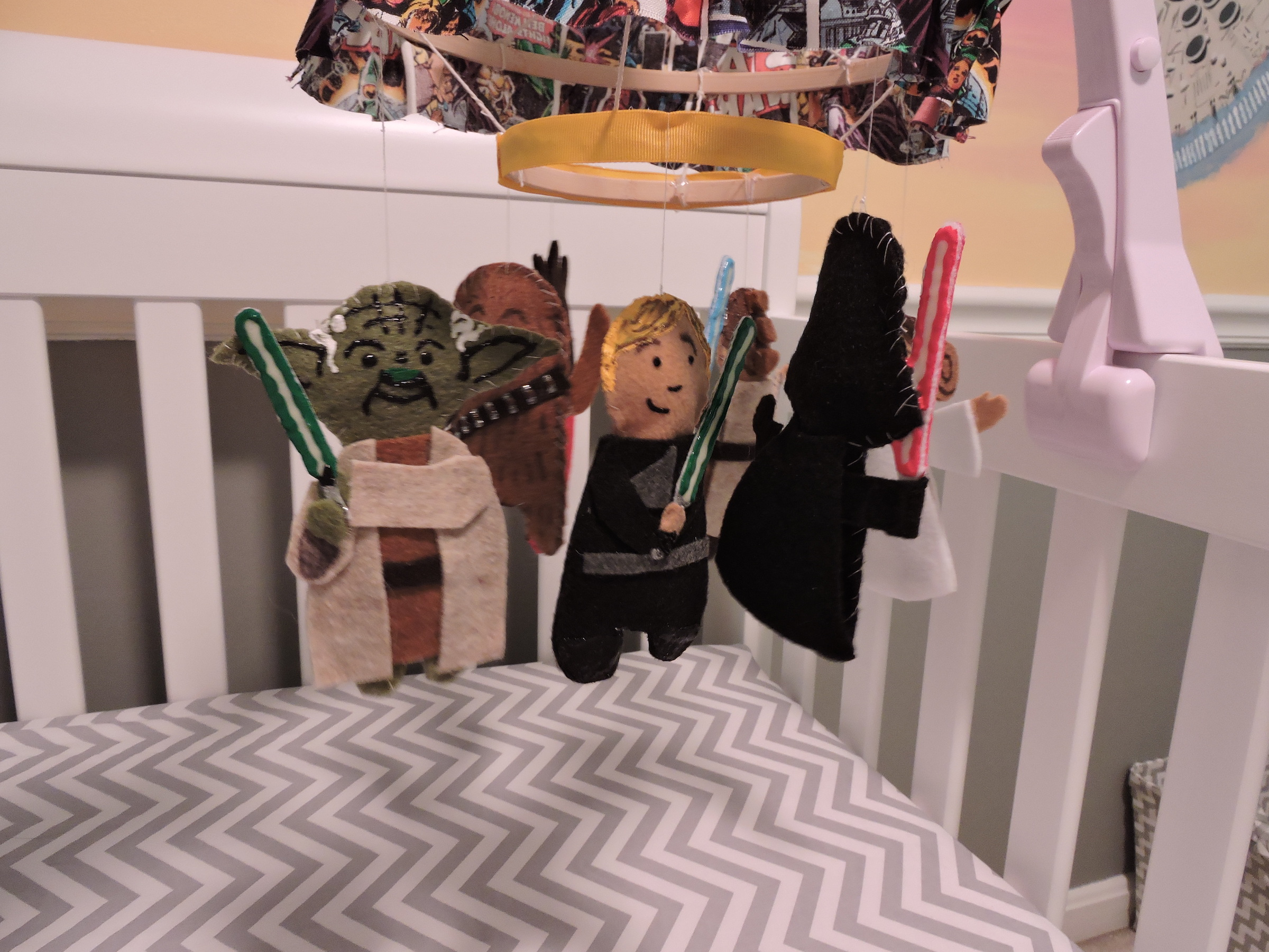Star Wars Nursery Character Mobile
