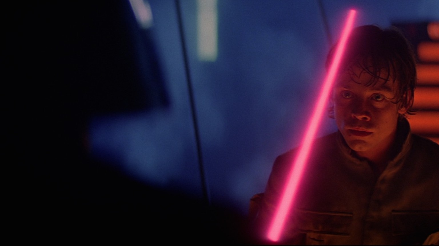 The Empire Strikes Back - Luke and Darth Vader on Cloud City