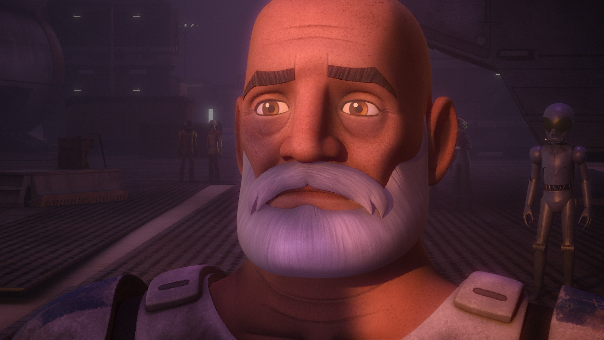 Star Wars Rebels - Rex at the end of Twilight of Apprentice