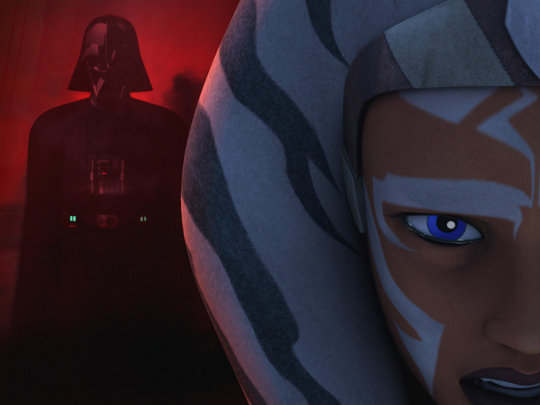 Star Wars Rebels - Ahsoka in the Jedi Temple on Lothal