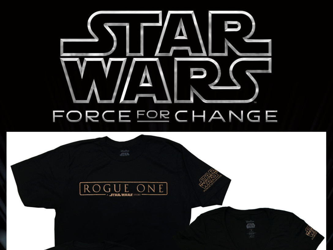 Star Wars Force for Change - Park T-shirts