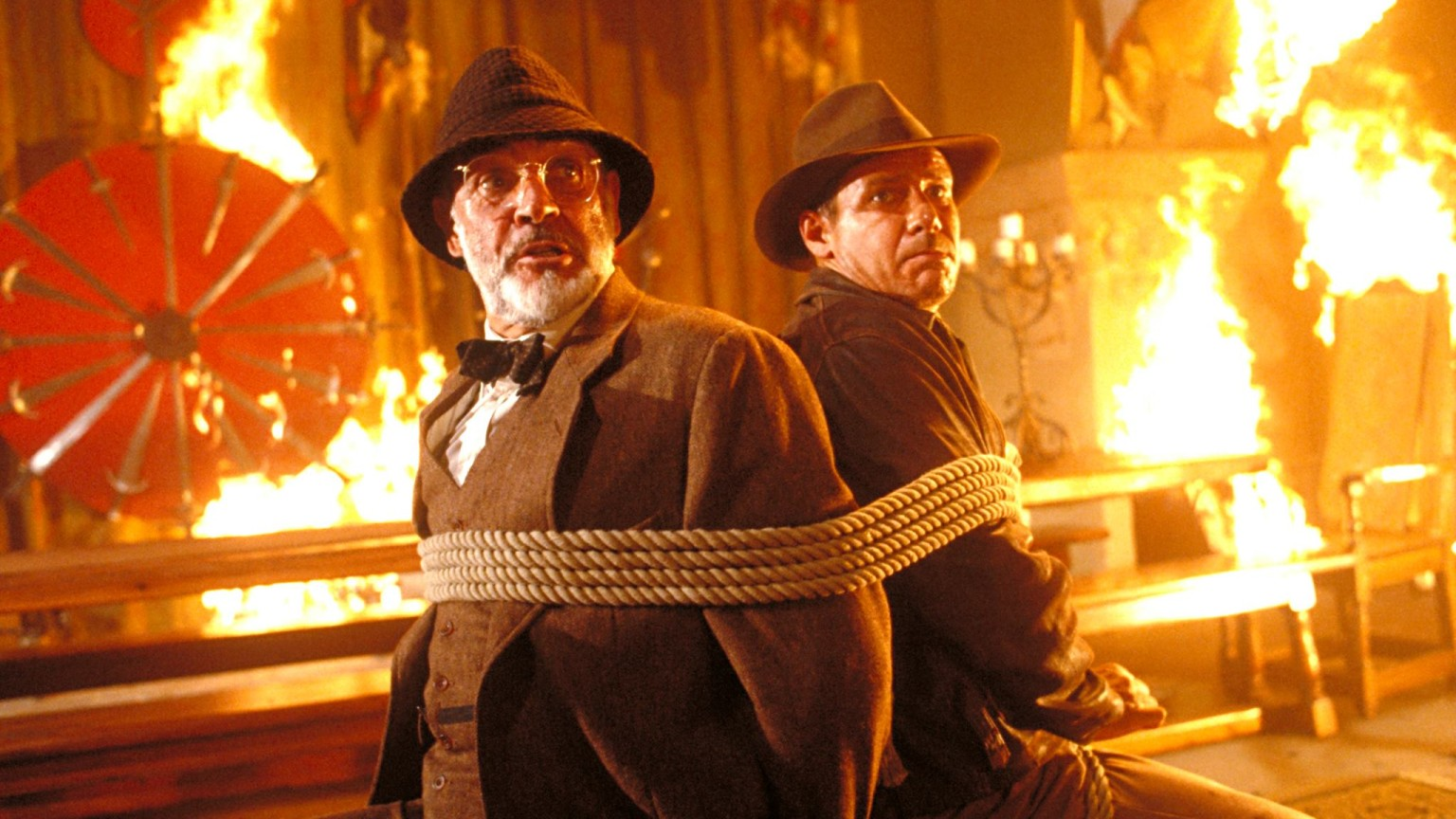Indiana Jones and the Last Crusade - Indy and his father