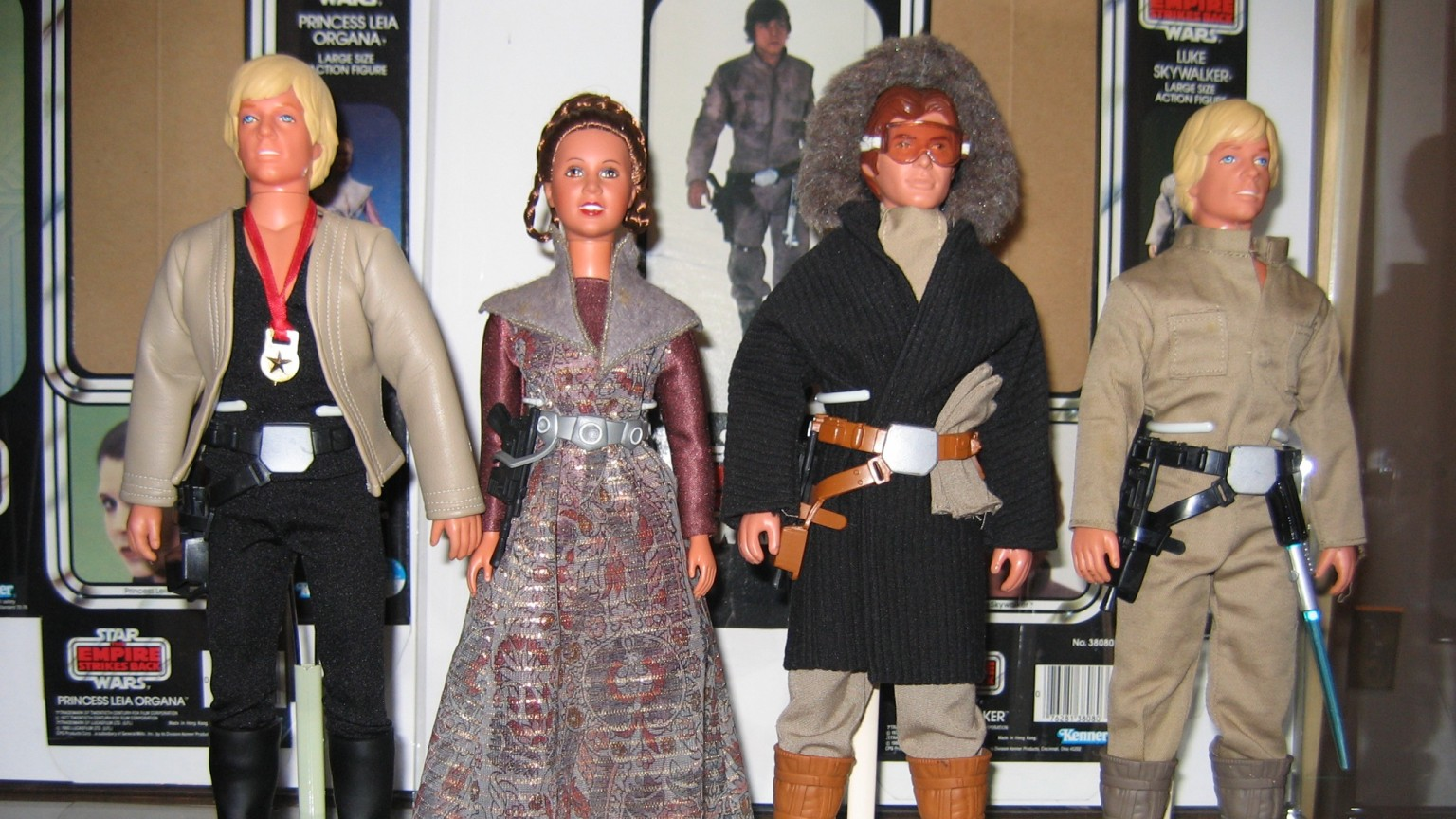 Kenner's Unreleased Large Size Action Figures