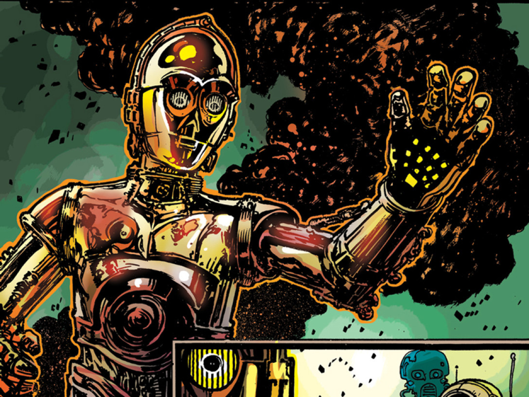 Star Wars C-3PO Comics - Page 5