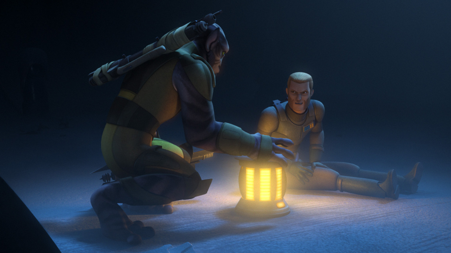 Star Wars Rebels - Agent Kallus and Zeb
