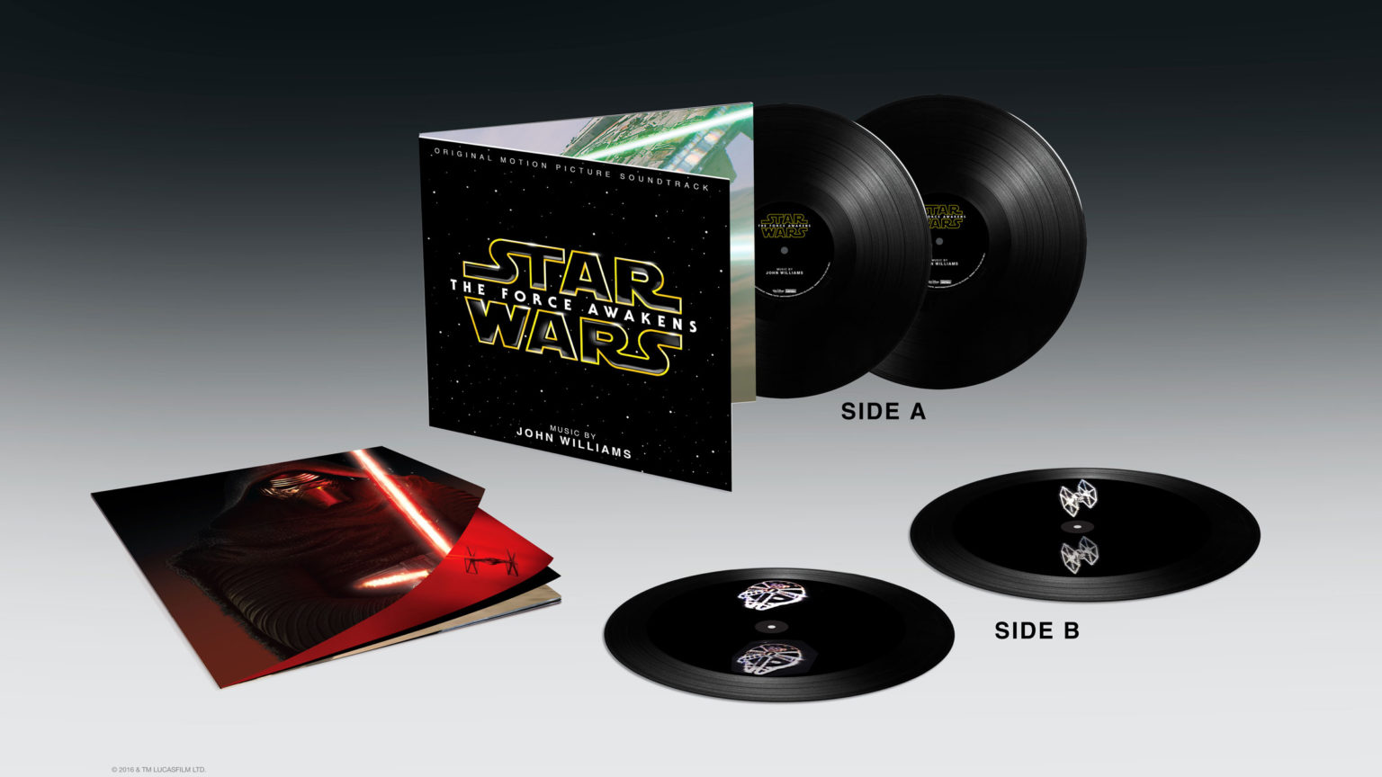 Star Wars: The Force Awakens vinyl