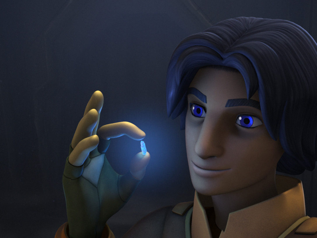 Star Wars Rebels - Ezra with kyber crystal