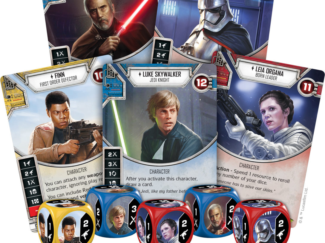 Star Wars: Destiny card game