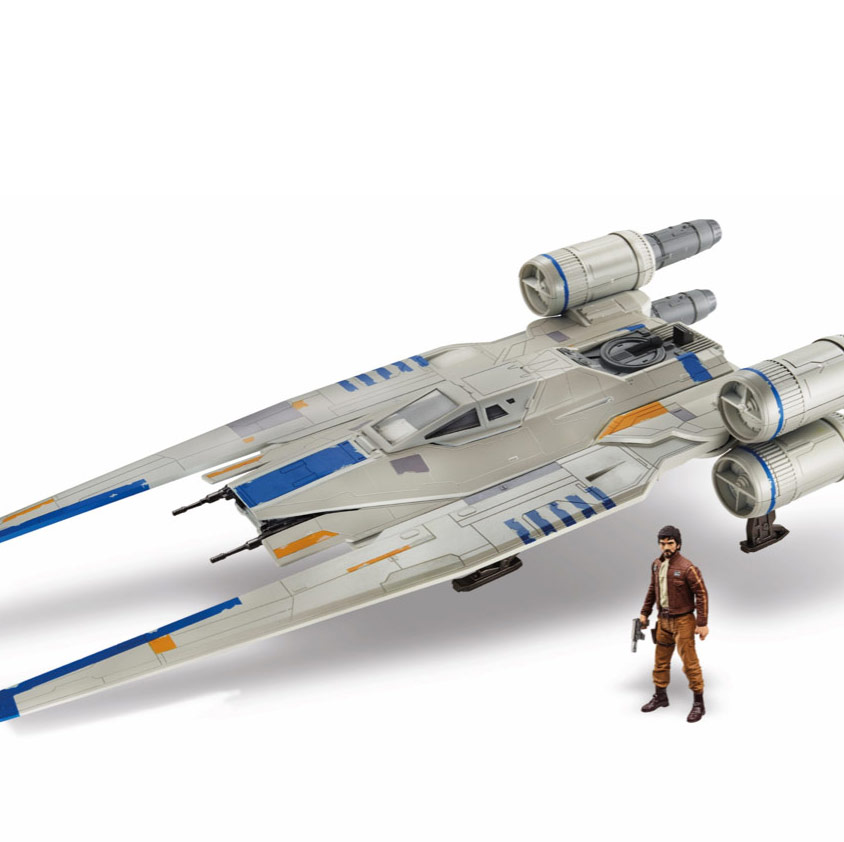 Go Rogue Pre-Order: Rogue One: A Star Wars Story Rebel U-Wing Fighter