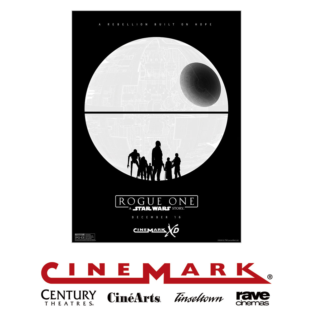 Rogue One Ticketing Exclusive - Cinemark