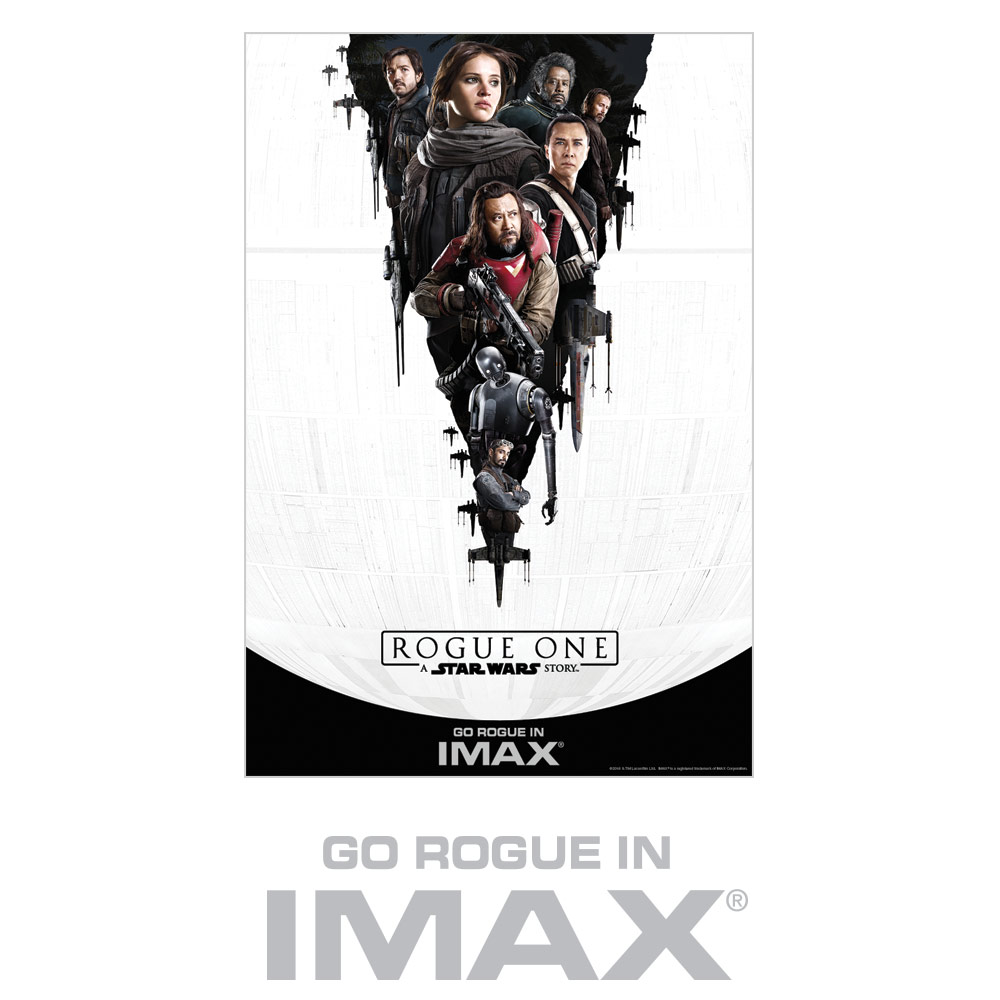 Rogue One Ticketing Exclusive - IMAX