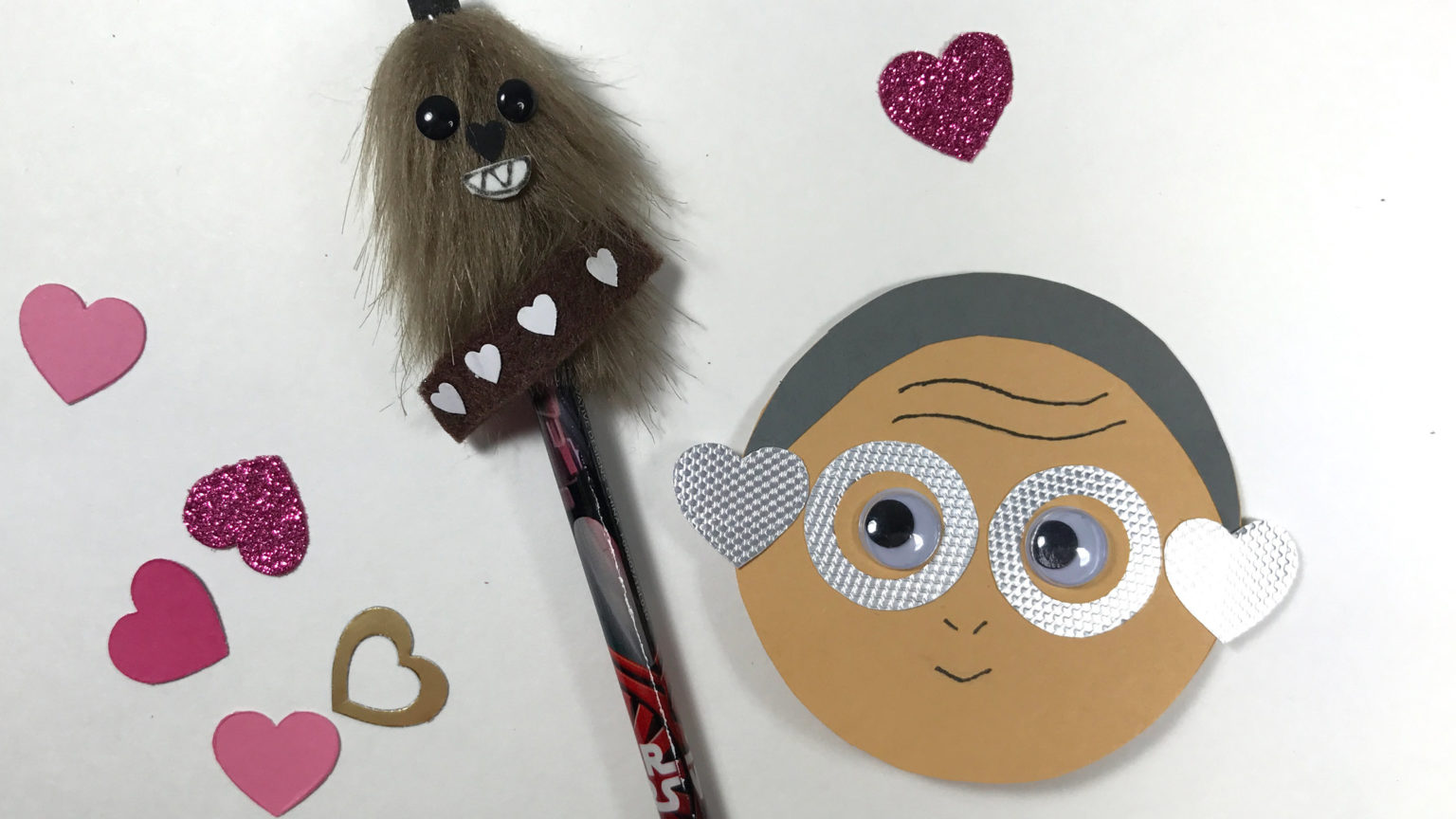 Maz Kanata Finds Her Boyfriend Chewbacca With These DIY Valentines |  StarWars.com