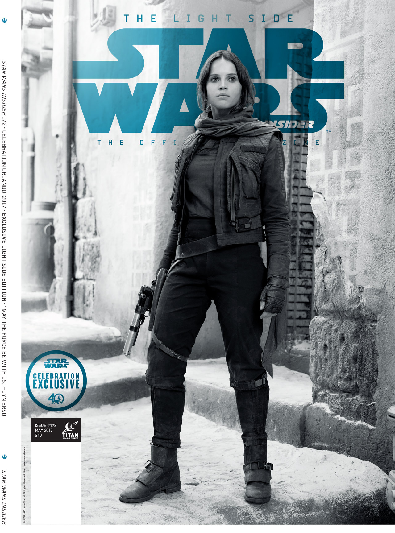 10 highlights from star wars insider 172 plus a first look at celebration exclusive covers and. Black Bedroom Furniture Sets. Home Design Ideas