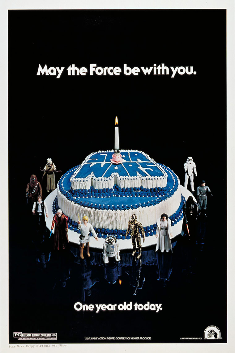 40 Years Of Star Wars Anniversary Posters Starwars Com
