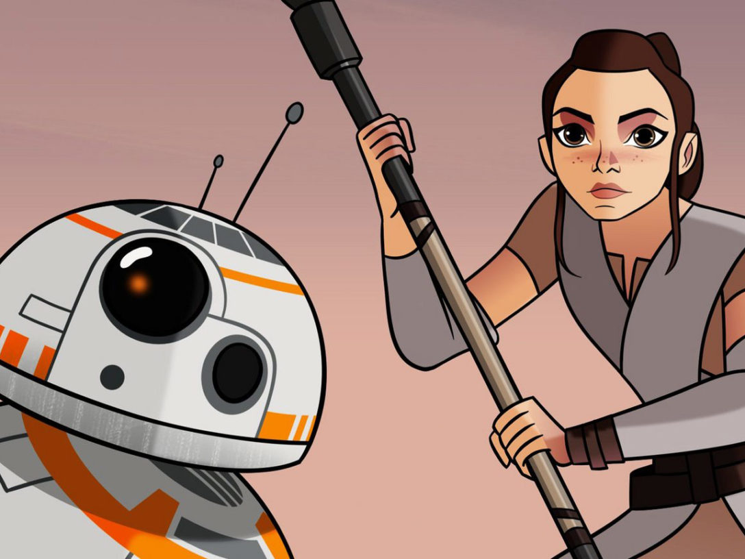 """5 Highlights from Star Wars Forces of Destiny: """"Teach You, I Will ..."""