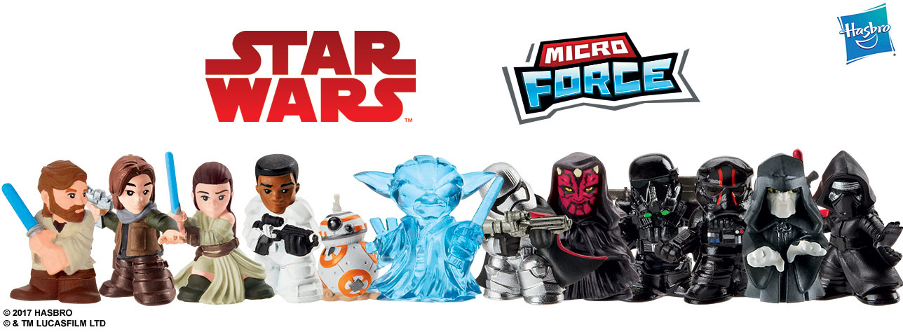 Hasbro S New Micro Force Figures Are Big Fun Exclusive