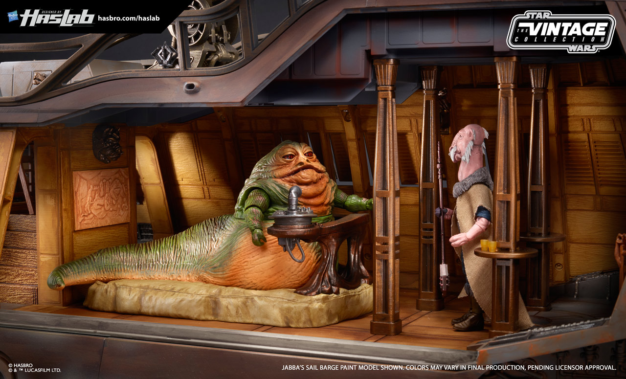 Check Out New Photos Of The Fully Painted Jabba S Sail