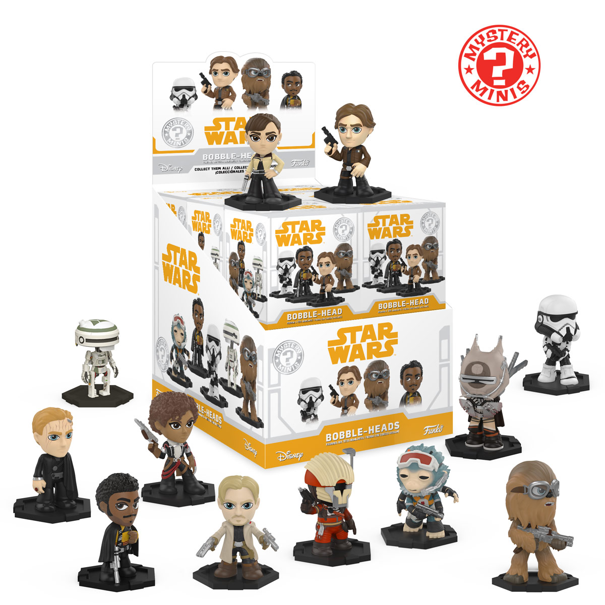 Mystery: Solo: A Star Wars Story Products Revealed!