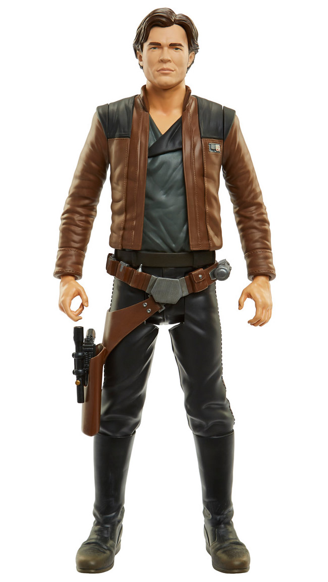 "Han Solok 6/"" Figure par Hasbro Star Wars Mighty Muggs chiffres"