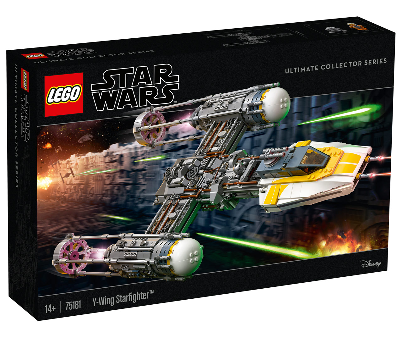 lego star wars ucs y wing exclusive reveal. Black Bedroom Furniture Sets. Home Design Ideas