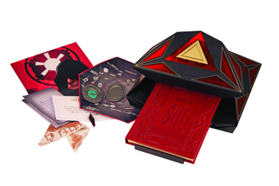 Book of Sith Holocron and Removables