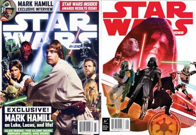 Insider 137 Newsstand and Comic Store covers