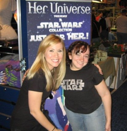 Me and Erin at Dragon*Con 2010!