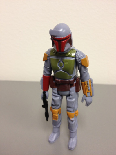 Boba Fett mail-away action figure (front)