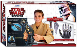 The Star Wars Science line of toys teaches kids how robotic hands work