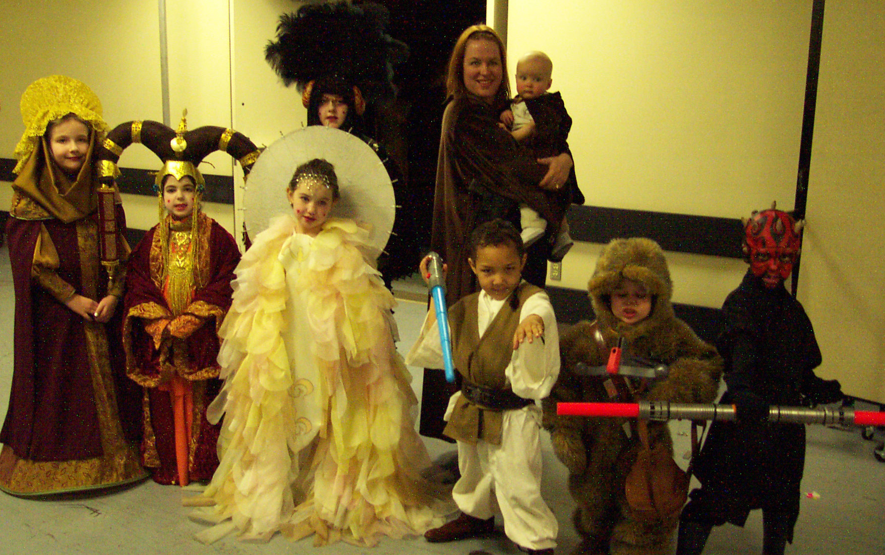The Costume Contest at Celebration II featured a kids category. The younglings showed the adults that spectacular costumes were not just for grownups. Photo by Kathy Van Beuningen.
