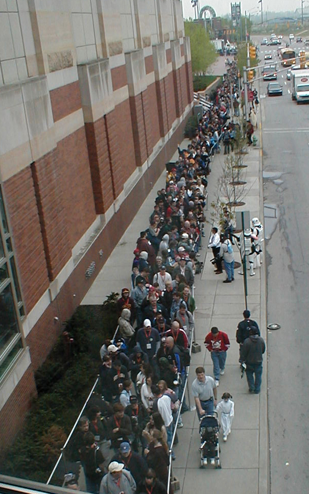 Eager fans queue up for Celebration III