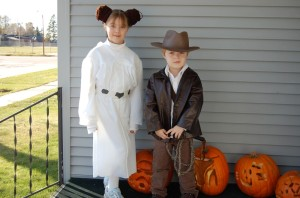 Lane Princess Leia and Indy