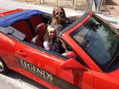 Out for a Sunday drive with my favorite Wookiee!