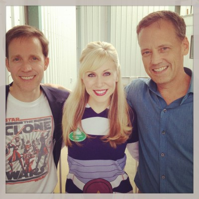 We had an amazing Celebrity guest the first weekend, Dee Bradley Baker! I love these two guys!