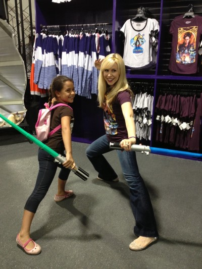 I love meeting fans of all ages! The Force is Strong with this Ahsoka fan!
