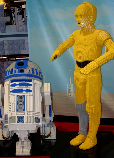 sdcc 07 r2-d2 and c3po