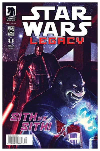Star Wars Legacy #6 Cover