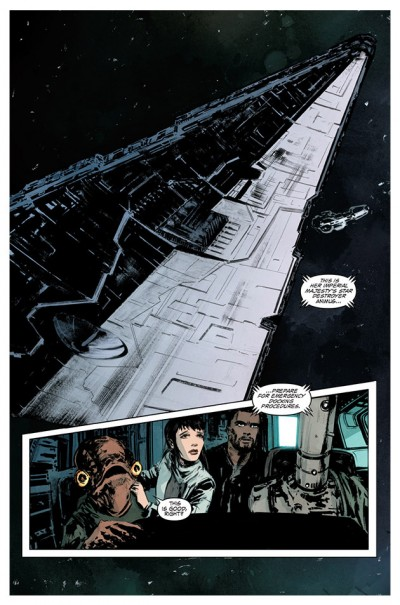Star Wars Legacy #6, Page 2