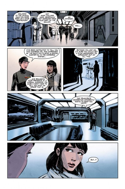 Star Wars Legacy #6, Page 4